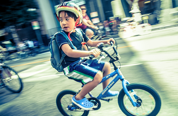 CicLAvia: a discovery experience for all ages