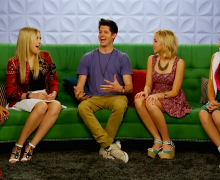 Hunter March on AwesomenessTV discusses his first kiss