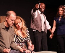 A scene from I Wanna Hold Your Hand at Theatre of NOTE