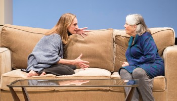 Lisa emery, left, and Lois smith in MARJORIE PRIME
