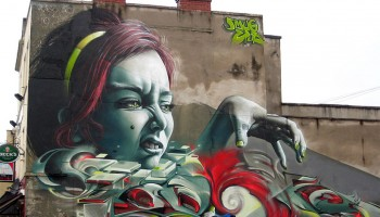 Epok and Smug collaboration at Upfest 2012