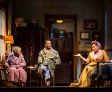 (l-r) Cicely Tyson, Blair Underwood & Vanessa Williams in THE TRIP TO BOUNTIFUL