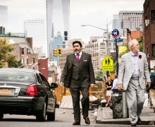 Alfred Molina (l) and John Lithgow in 'Love Is Strange,' directed by Ira Sachs, one of the most celebrated independent films of 2014. Courtesy Sony Pictures Classics.