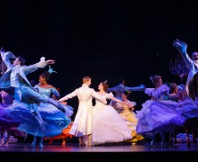 A dance number from Rodgers + Hammerstein's Cinderella at the Ahmanson Theatre