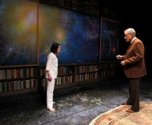 Emily James and John de Lancie in South Coast Repertory's 2015 w