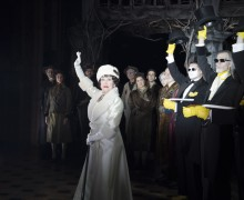 Chita Rivera and company in The Visit Photo by Thom Kaine