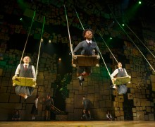 """""""The Company of """"Matilda The Musical"""" National Tour. Based on the beloved novel by best-selling author Roald Dahl, """"Matilda The Musical"""" has a book by Dennis Kelly, music and lyrics by Tim Minchin and is directed by Matthew Warchus. """"Matilda The Musical"""" will be presented May 29 – July 12, 2015, at the Center Theatre Group/Ahmanson Theatre. For tickets and information, please visit CenterTheatreGroup.org or call (213) 972-4400. Contact: CTGMedia@CenterTheatreGroup.org / (213) 972-7376 Photo by Joan Marcus """""""