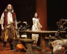 Deborah Hay and Ben Carlson in The Taming of the Shrew at the Stratford Festival. Credit: David Hou