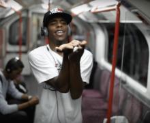 Lil Buck 1 - London tube