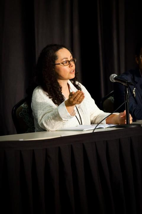 Anne Hamilton Speaking at 2012 GPTC Dramaturgy  Panel