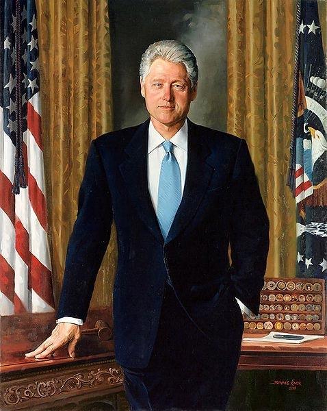 Simmie Knox, President William Jefferson Clinton