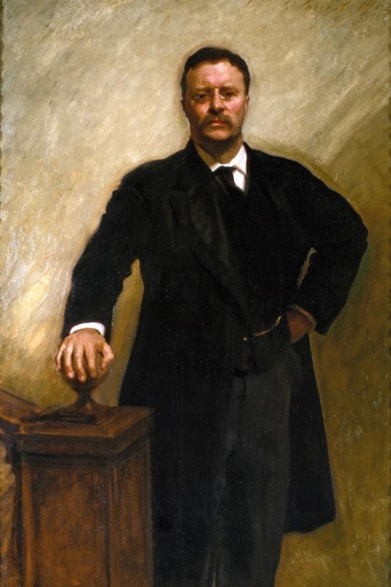 John Singer Sargent, President Theodore Roosevelt