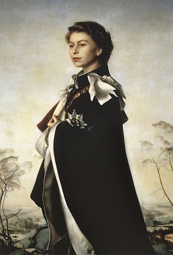 Pietro Annigoni, Queen Elizabeth II