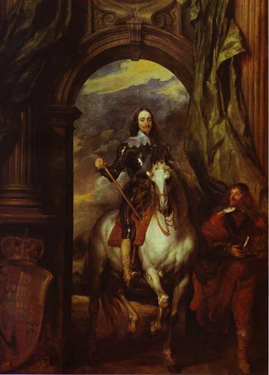 Van Dyck's portrait of King Charles I