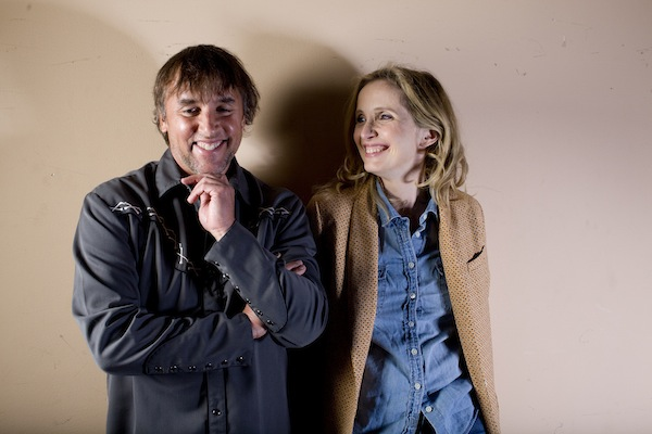 Richard Linklater and Julie Delpy at A CONVERSATION WITH RICHARD LINKLATER at the 56th San Francisco International Film Festival. Photo by Pamela Gentile