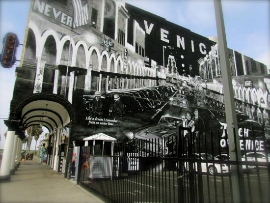 Windward Avenue at the Venice Boardwalk, October, 2012.