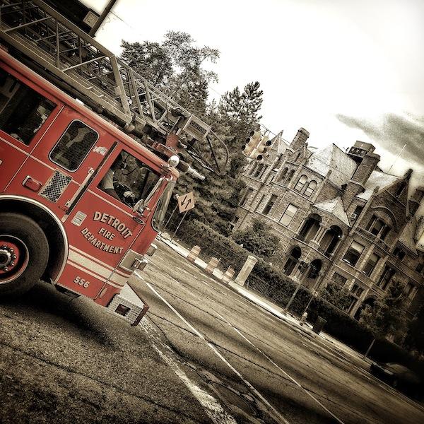 Detrot Fire Truck