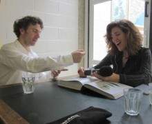 Frances-interviewing-Thomas-Heatherwick-1024x768