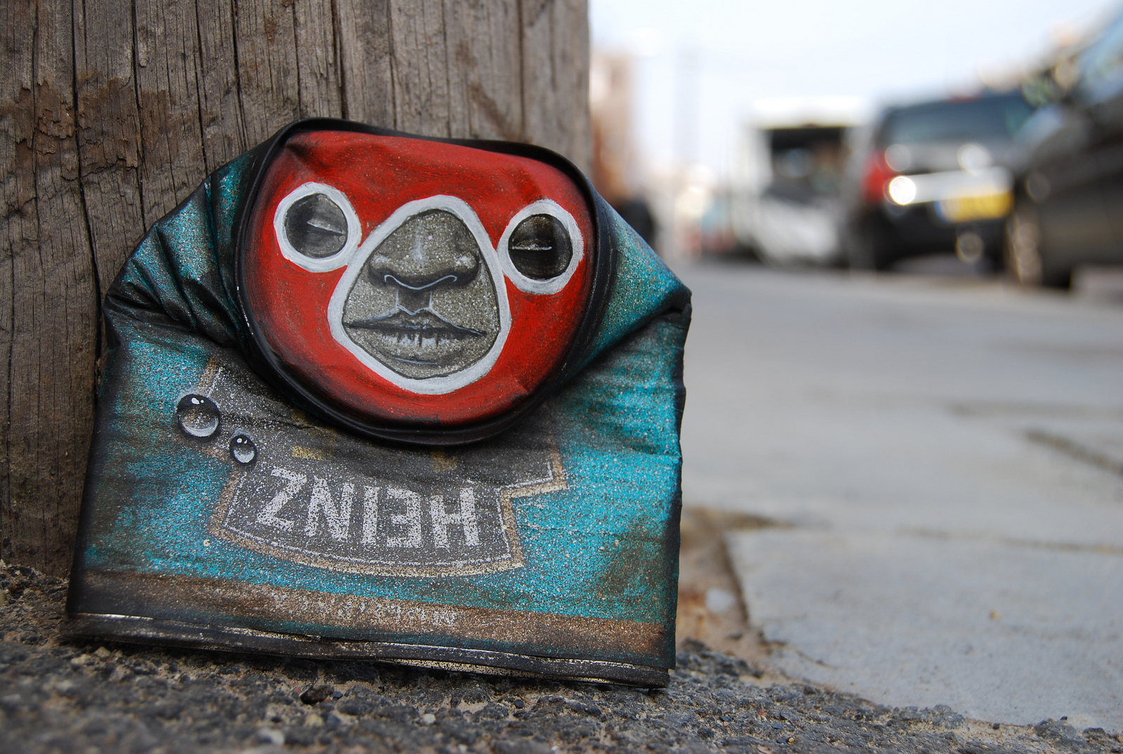 My Dog Sighs specializes in making art out of discarded products