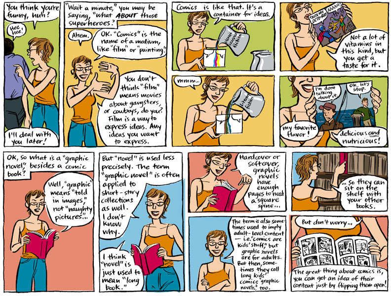 What is a Graphic Novel by Jessica Abel, page 2