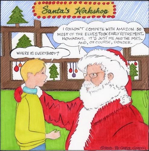 Santa vs. Amazon