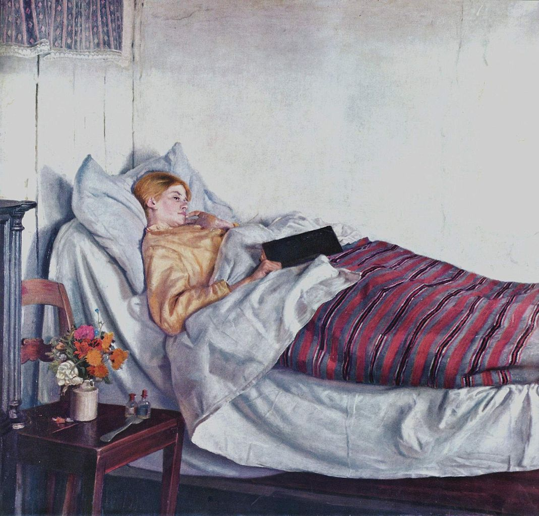 The Sick Girl, (1882) by Michael Ancher, courtesy of Wikimedia