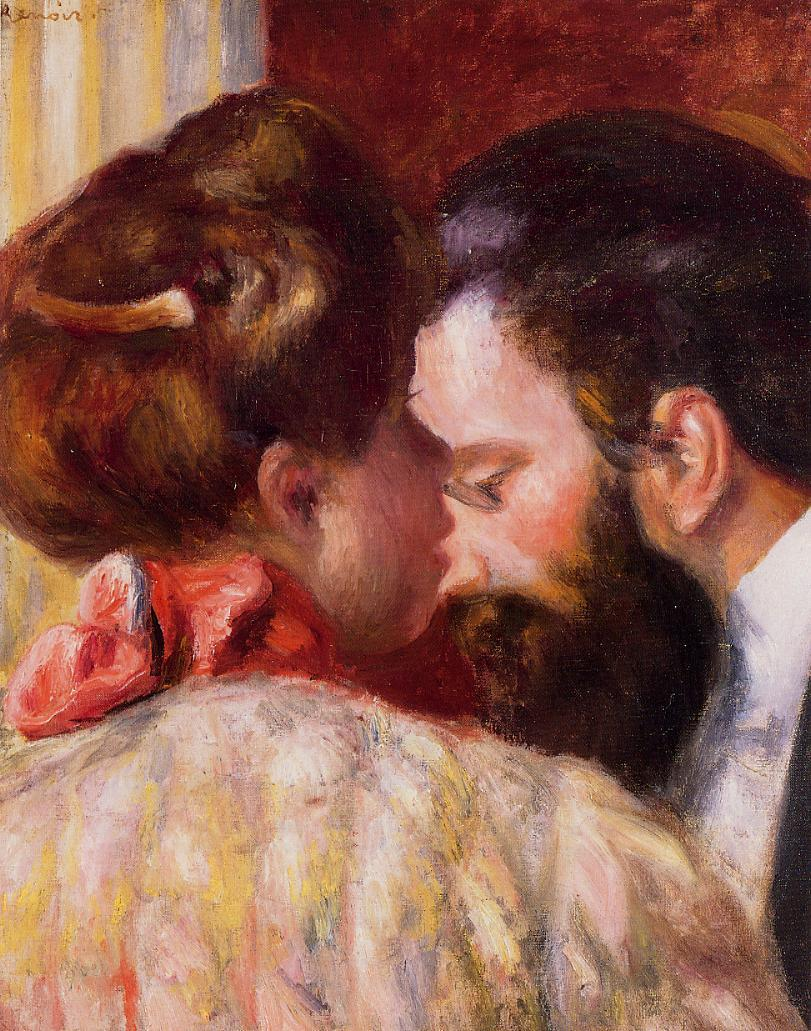 Confidence, (1897) by Pierre Auguste Renoir, Courtesy of Wikipaintings