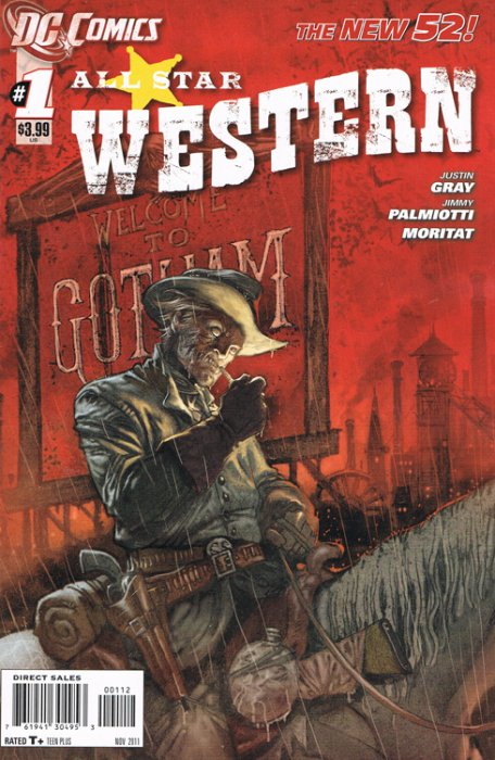 All-Star Western #1, co-written by Jimmy Palmiotti