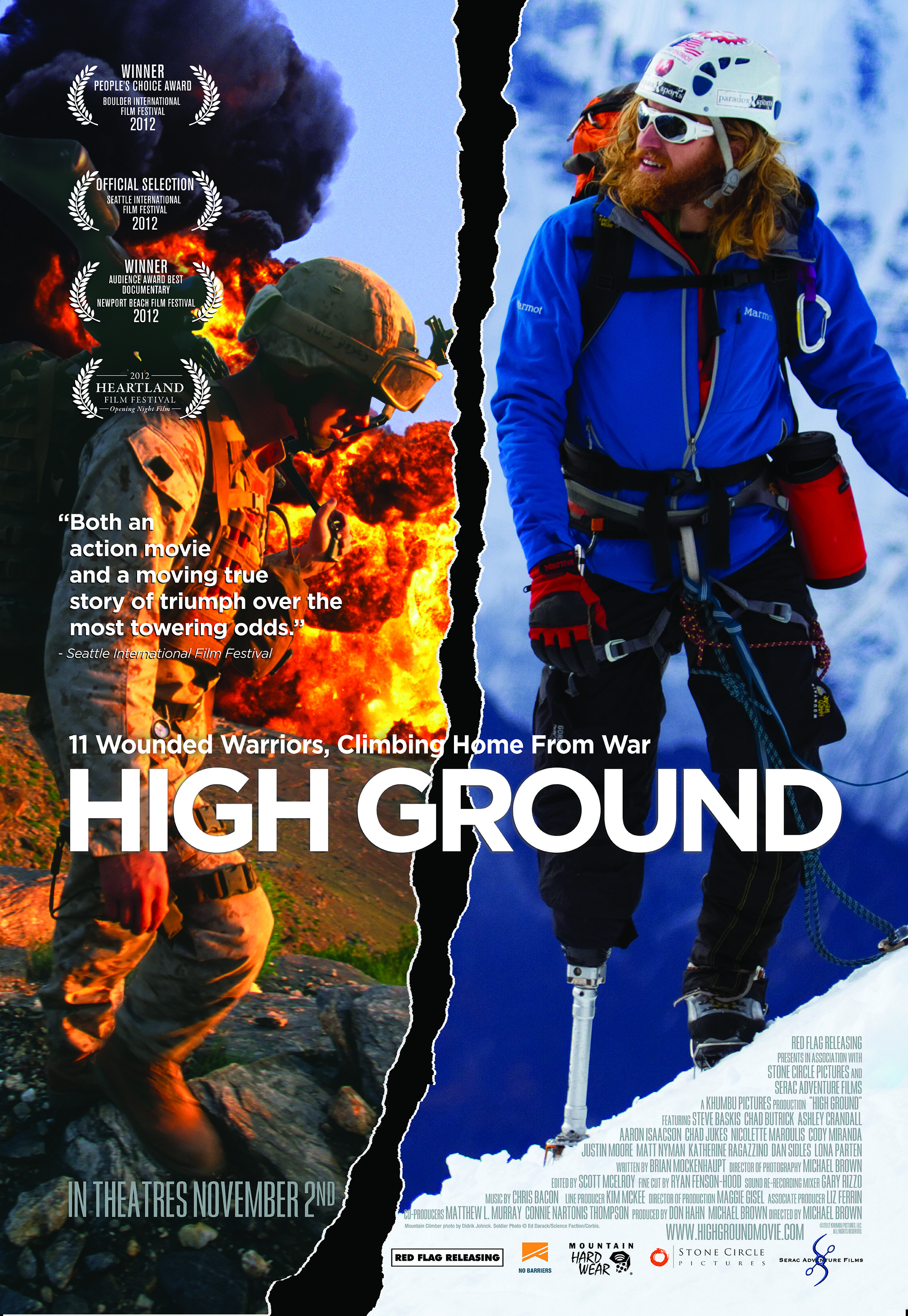 Movie poster for High Ground