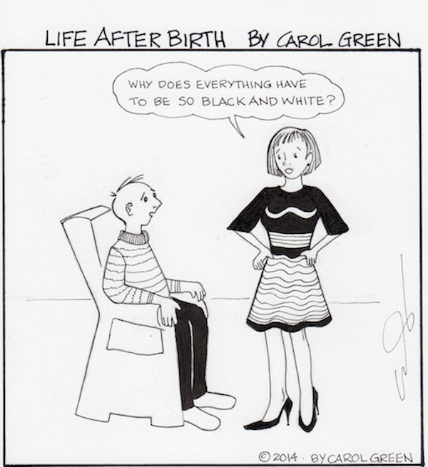 Life After Birth - Black and white and era all over.
