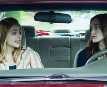 Chloë Grace Moretz (left) and Kiera Knightley in Laggies, directed by Lynn Shelton. Photo by Barbara Kinney, courtesy of Sundance Institute.