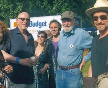 Pete Seeger and Mitch Greenhill