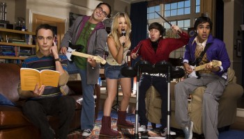 The cast of CBS top-rated show Big Bang Theory