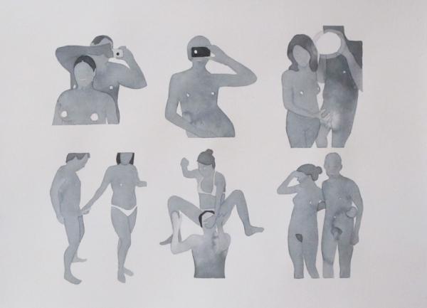 Dan Gluibizzi sex watercolor