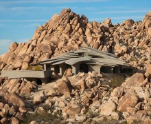 Ken Kellogg organic architecture in Joshua Tree