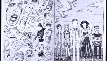 Sketchbook 'Numbered, Weighed, Divided' by Greg Kletsel