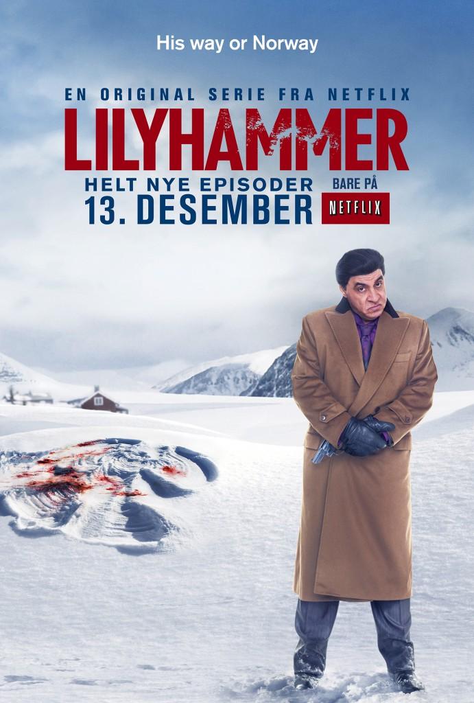 Norwegian key art for Lilyhamer