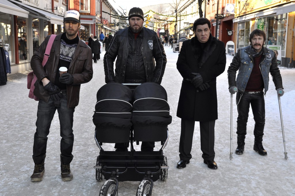 How can you resist these guys? L to R: Trond Fausa Aurvåg, Tommy Karlsen, Steven Van Zandt and Robert Skjærstad