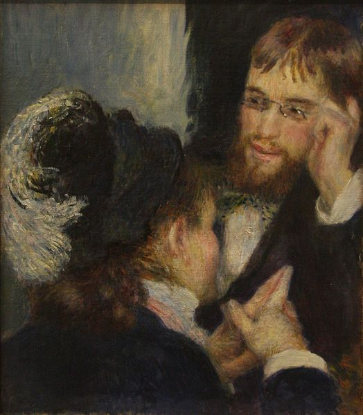 """""""Conversation"""" by Pierre August Renoir, (undated) courtesy of Creative Commons, Wikimedia"""