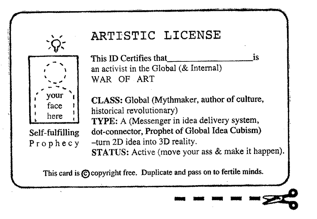 David Mack's Creative License