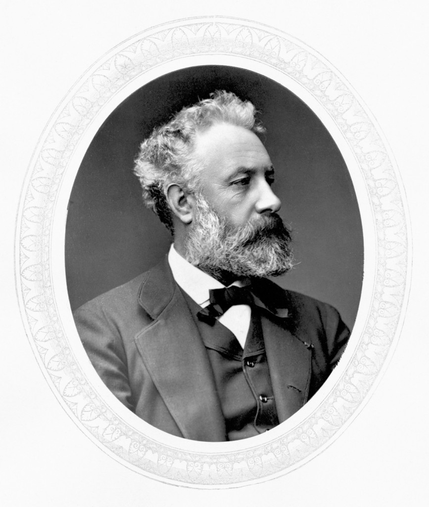 Jules Verne, 1860. Photographer unknown.