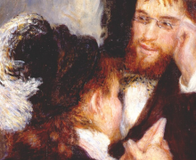 Detail from Conversation by Renoir
