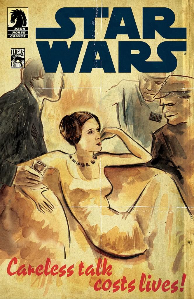 Matt's cover for Dark Horse's Star Wars: Rebel Heist