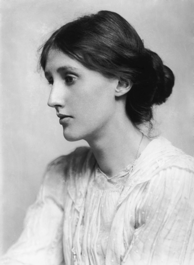 Virginia Woolf, 1902. Photo: George Charles Beresford.