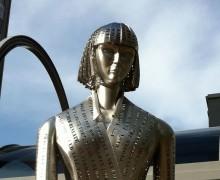 Katherine Mansfield Statue