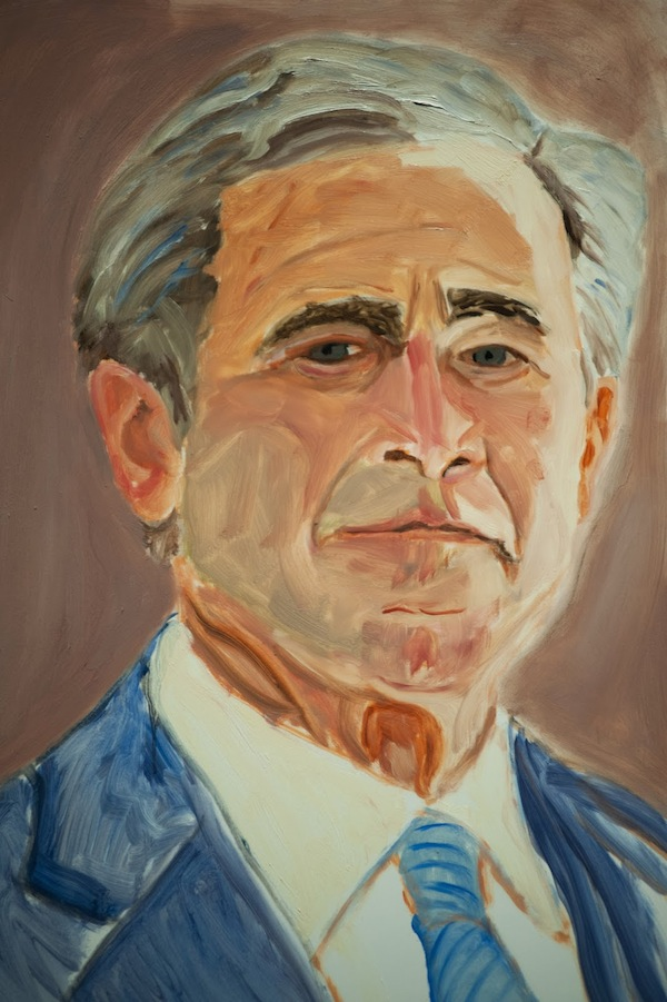 Art therapy the george bush paintings cultural weekly for George bush painting