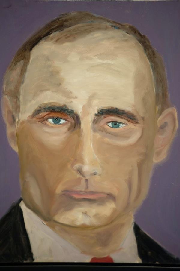 Resultado de imagen para vladimir putin by george bush paint