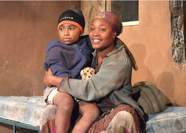 Timothy Taylor and Deidrie Henry in the West Coast premiere of Anthol Fugard's newest play, 'Coming Home,' directed by Stephen Sachs. Photo by Ed Krieger