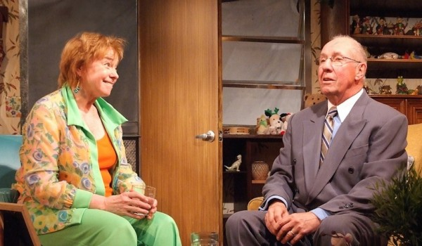 Jenny O'Hara and Nick Ullett in My Name is Asher Lev at the Fountain Theatre