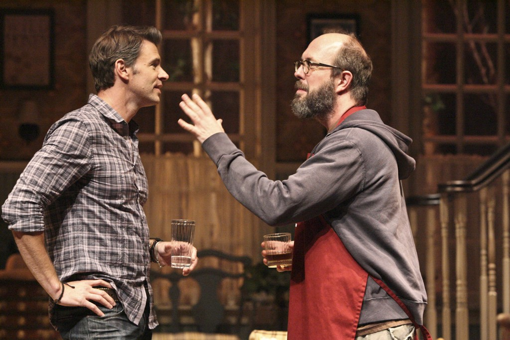 L to R - Scott Foley and Eric Lange - Photo by Michael Lamont